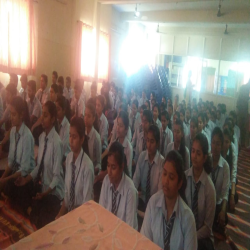 1-4-2019: Around 350 students of Silver crest school and  college of   Dnyagnagna  conducted the Anapana  session