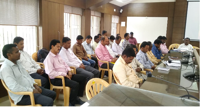 12-10-18                                      At Haveli Taluka                                      The  Vipassana workshop was held                                       30 employees attainded the workshop